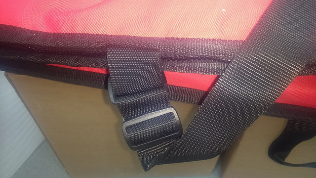 Secure strong shoulder strap