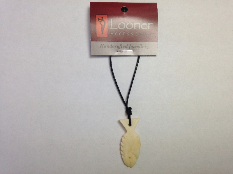 Looner Bone Fish necklace