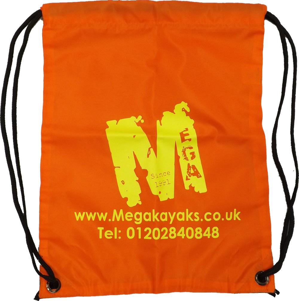 Mega drawstring bag
