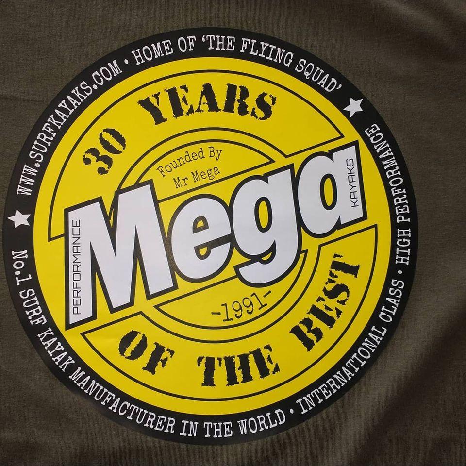 Mega 30 year anniversary T shirt