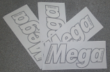 Mega Kayaks Stickers , logo
