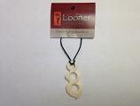Looner Tripple Twist Bone Necklace
